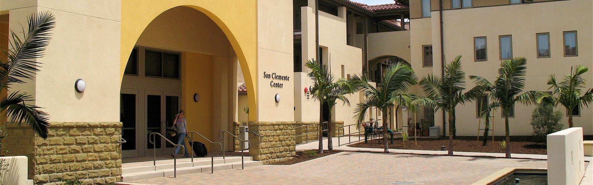 San Clemente student housing building