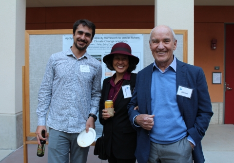 Bill Kuni and Mary Yang at the 2018 PhD Symposium